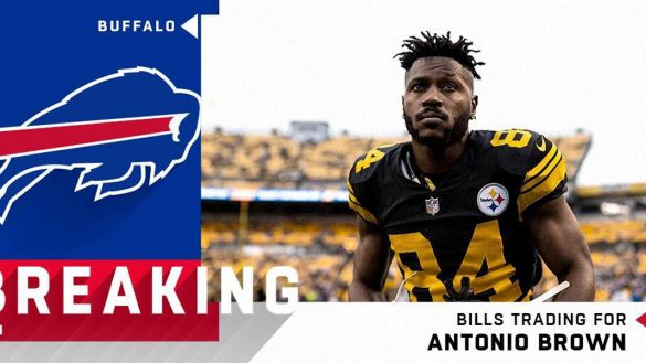 Antonio Brown Buffalo Bills