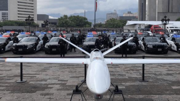 Y en Nuevo León, con el Bronco, desembolsan 54 millones de pesos por un 'dron'