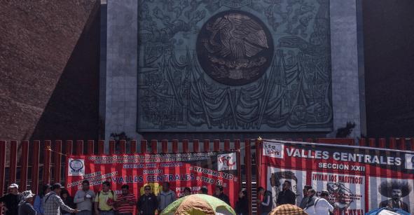 Va de nuez: Suspenden sesión en Cámara de Diputados para buscar diálogo con la CNTE