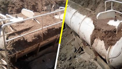 ¡Uno más! Encuentran cisternas de huachicol enterradas en Veracruz