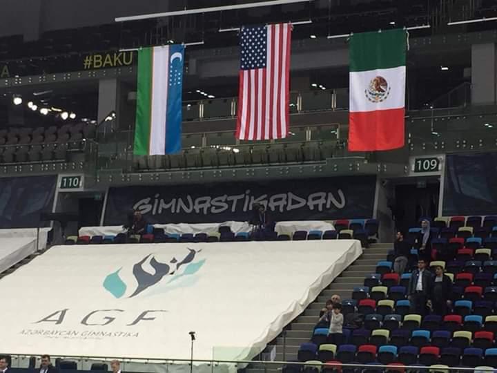 ¡Grande entre las grandes! Alexa Moreno se colgó la medalla de bronce en la Copa del Mundo de Bakú