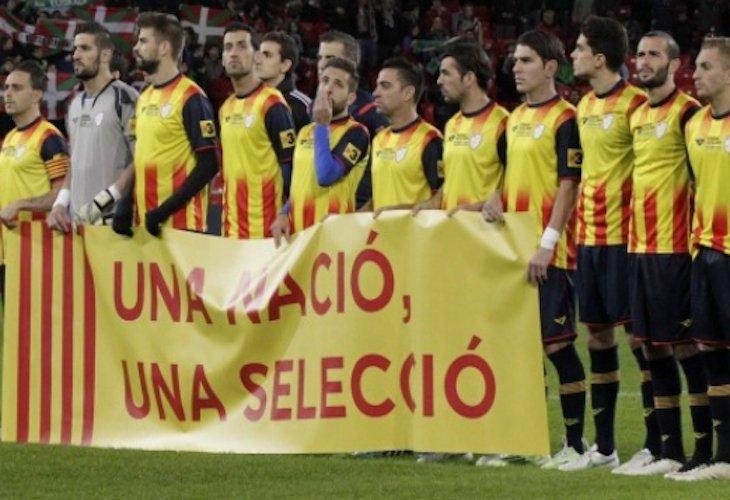 Piqué y Xavi jugarán con la Selección de Cataluña