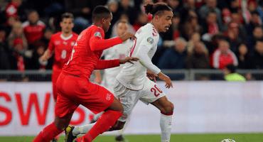 3 goles en 10 minutos y Dinamarca le sacó el empate a Suiza