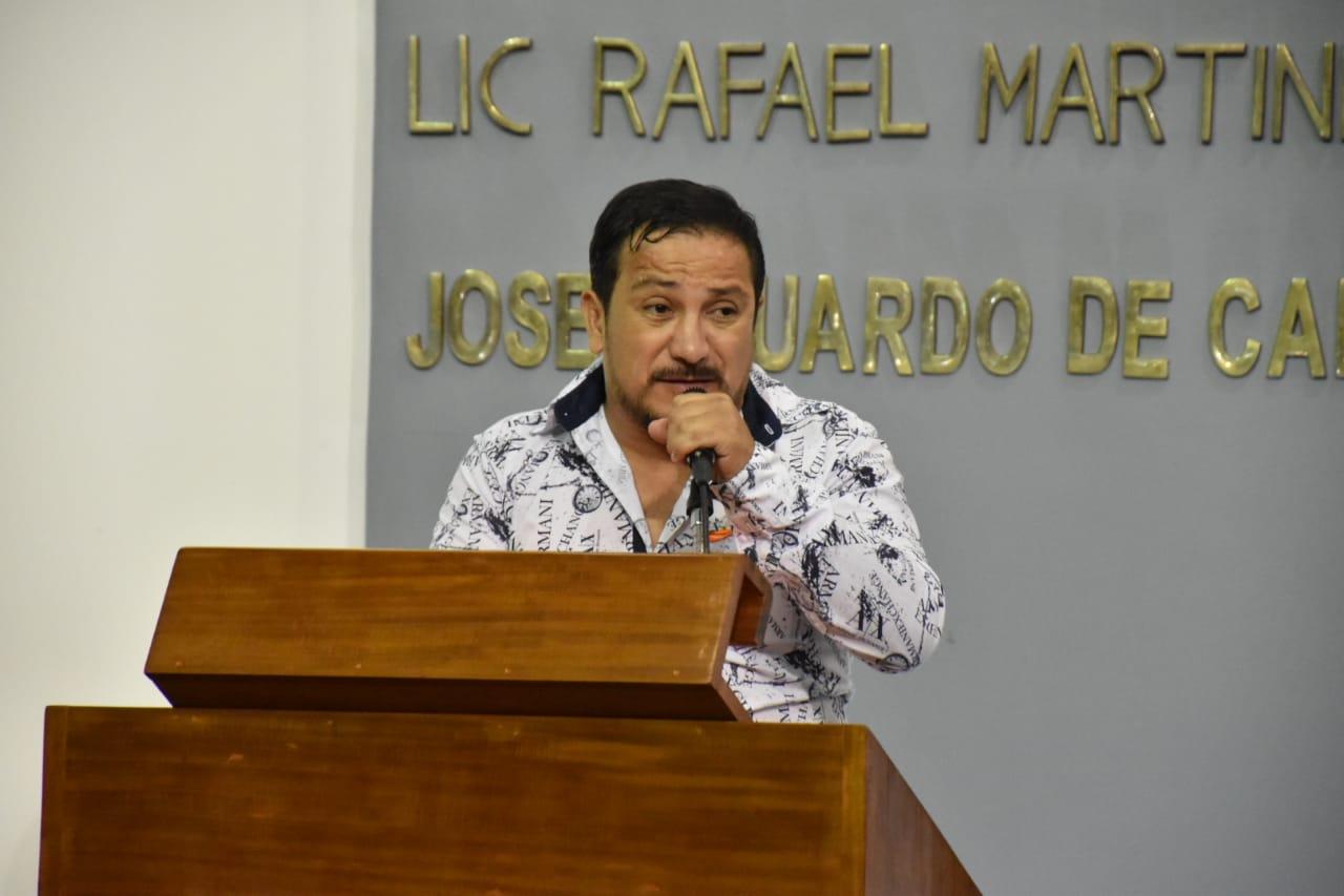 diputado de Morena, Charly Valentino