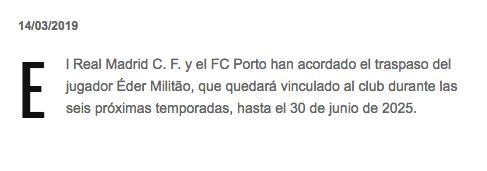 Él es Eder Militao, el primer refuerzo de Zidane en su segunda etapa con el Real Madrid