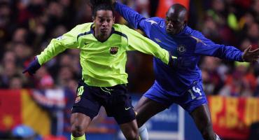 El día que Makelele amenazó a Ronaldinho con mandarlo al hospital