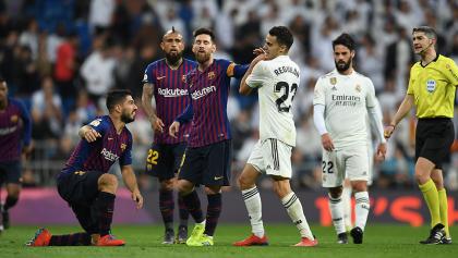 ¡Ya salió el peine! El motivo por el que Reguilón encaró a Messi y Suárez en El Clásico
