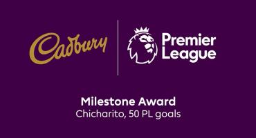 El reconocimiento de la Premier League al 'Chicharito' por sus 50 goles en Inglaterra
