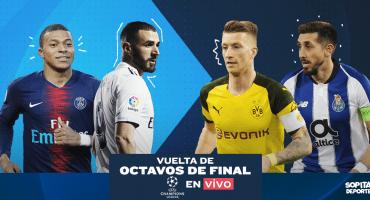 PSG-Manchester United, Porto-Roma: Todos los partidos y goles de los Octavos de Final de la Champions League