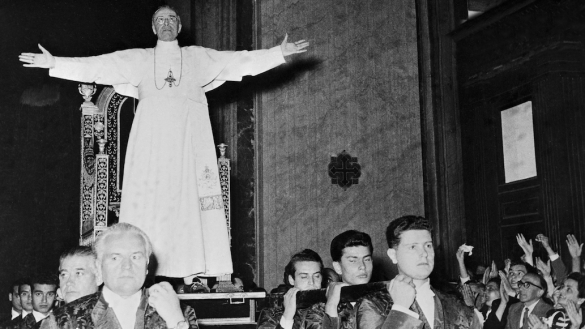 """""""La Iglesia no tiene miedo de la Historia"""", el papa Francisco ordena abrir los archivos secretos de Pío XII"""
