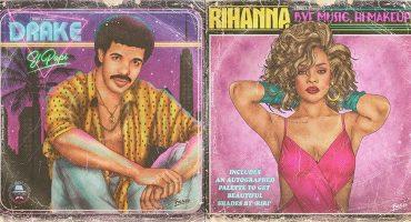 'Fulaleo', tunea las portadas de los LP de cantantes millennials... al estilo de los 80 💽