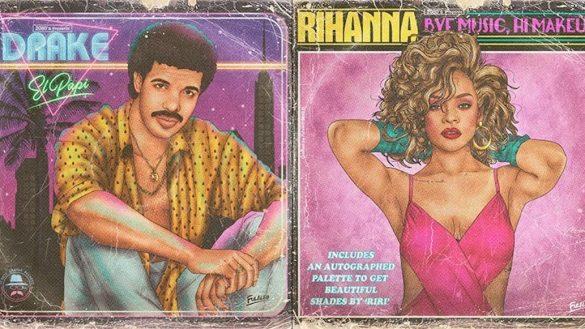 'Fulaleo', tunea las portadas de los Cd´s de cantantes millenials al estilo de los 80's