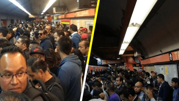 Una mañana caótica: se reportan fallas en estaciones del Metro CDMX