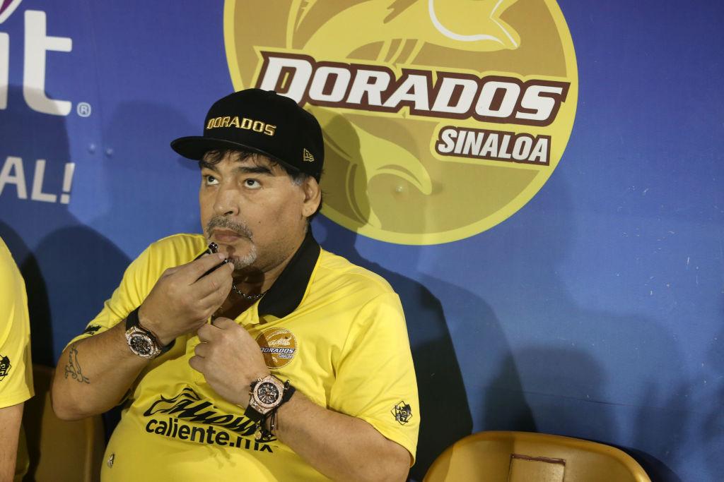 Maradona presumió su acento 'sinaloense' y se lo comieron en Twitter