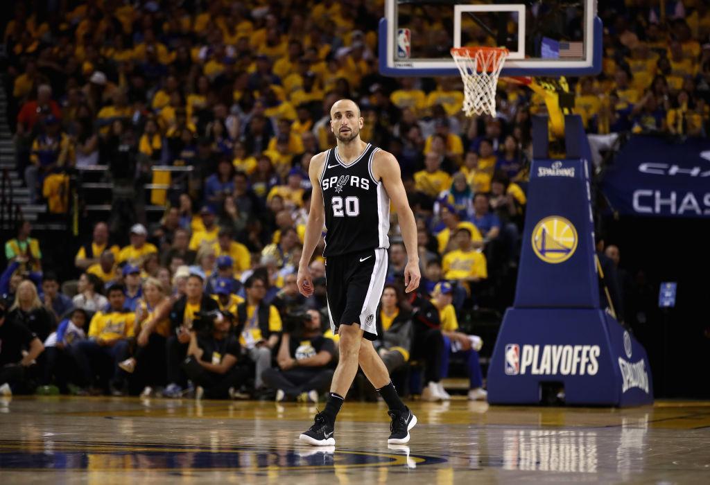 #GraciasManu: Así será el homenaje donde retirarán la camiseta de Ginobili de los Spurs