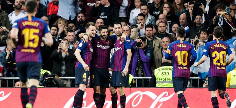 ¡El primero es del Barcelona! Revive el gol de Ivan Rakitic en El Clásico
