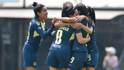 Los golazos de la victoria de América sobre Pumas en la Liga MX Femenil