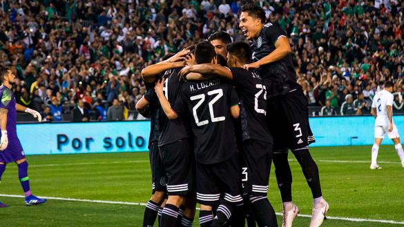 ¡Debut de 10! México derrotó a Chile y tenemos los goles