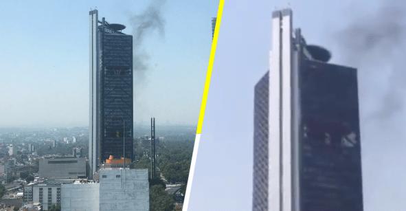 Ayer los desalojaron; hoy se reporta humo en la Torre Bancomer