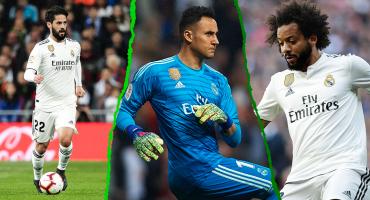 Keylor, Marcelo e Isco, titulares en el regreso de Zidane al Real Madrid