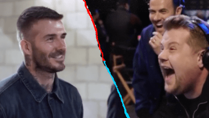 ¡Su cara! La divertida broma que le hicieron a Beckham al presentar su estatua de la MLS
