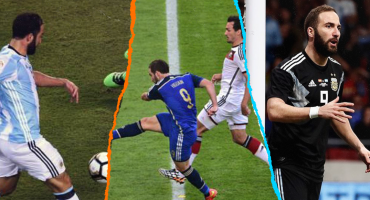 Los 5 OSOTES que marcaron a Higuaín con la Selección de Argentina