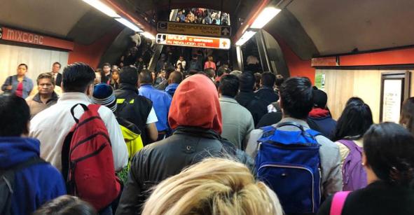 Tururú... Metro CDMX dice que se restablecerán las escaleras eléctricas 'próximamente'
