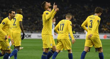 ¡El hombre gol del Chelsea! Los impresionantes números de Olivier Giroud en la Europa League
