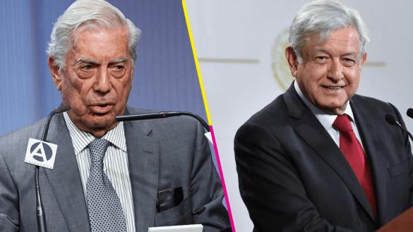 Vargas Llosa lanza crítica contra AMLO, 'se equivocó de destinatario', dice
