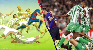 ¡D10S! Messi le dio vida a un cuadro del 2013 con esta jugada