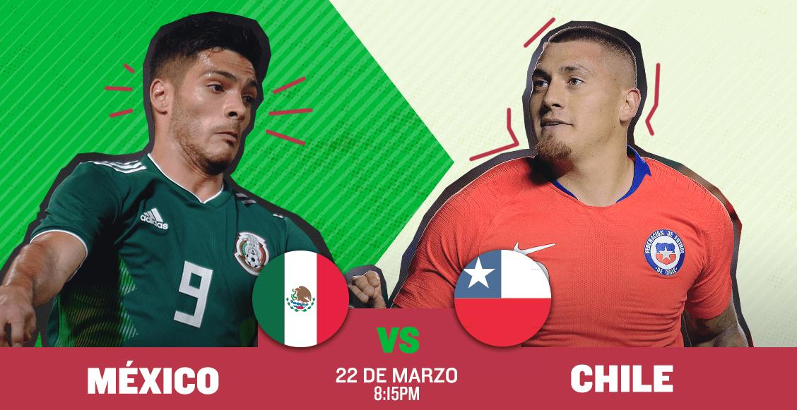 ¿Dónde, cuándo y cómo ver en vivo el México vs Chile?