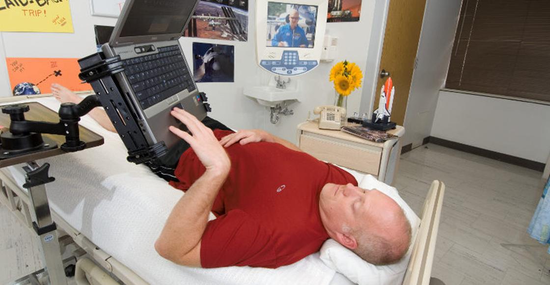 La NASA recompensa tu flojera y te paga 19 mil dólares por estar 2 meses en cama