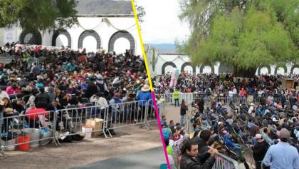 Acusan a gobierno de Oaxaca de juntar gente para hacer frente a posibles abucheos con AMLO