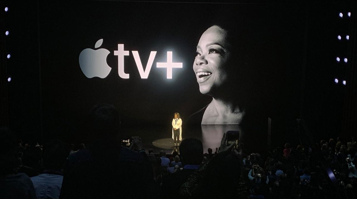 Oprah en Apple TV