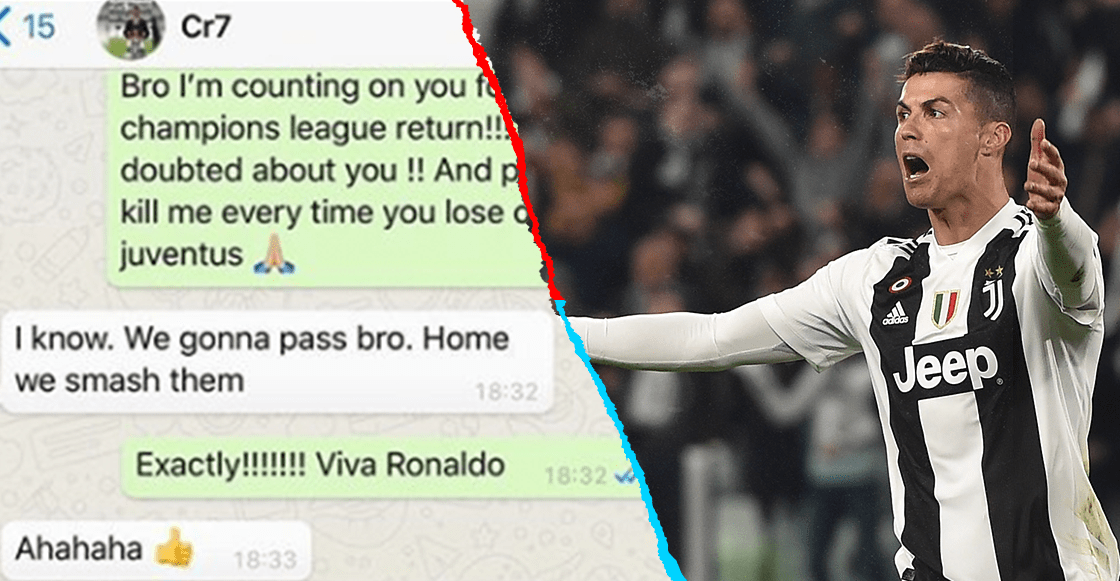 La plática entre Evra y Cristiano 5 días antes de la remontada de la Juventus en Champions League
