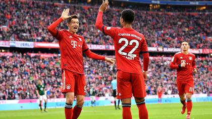 El gol con el que Lewandowski se convirtió en el máximo goleador extranjero de la Bundesliga