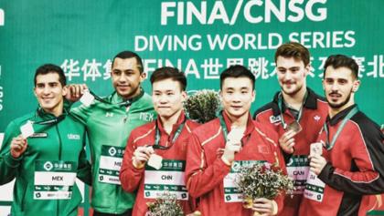 ¡Otra vez! Rommel Pacheco y Jahir Ocampo conquistan la plata en Serie Mundial