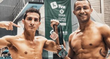 ¡Son de plata! Rommel Pacheco y Jahir Ocampo ganan medalla en Serie Mundial de Clavados