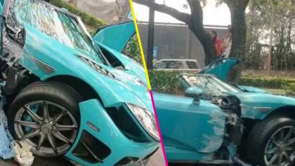 Tsss, rápido y furioso: difunden video del choque del Koenigsegg CCXR Special One