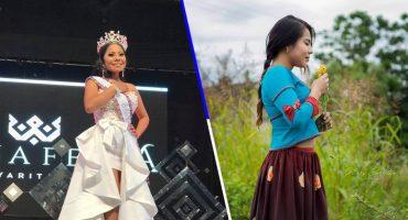 ¿Efecto Yalitza? Una joven wixárika ganó un concurso de belleza en México