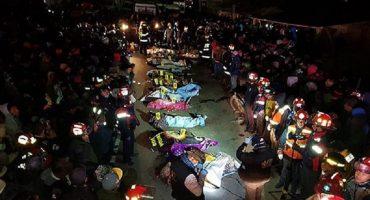 Guatemala: mueren 18 personas al ser arrolladas por un tráiler, 19 más están hospitalizadas