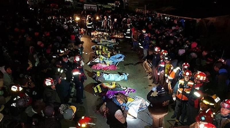 Accidente en Sololá, Guatemala
