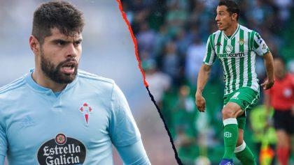 Esta fue la actividad de los mexicanos en el Celta vs Betis de La Liga Española