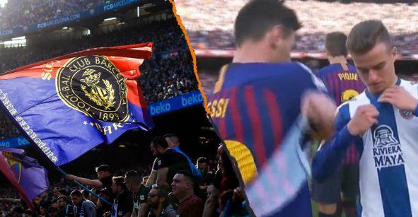 Casual: Le pides a Messi intercambiar camisetas y la afición te llena de insultos y amenazas