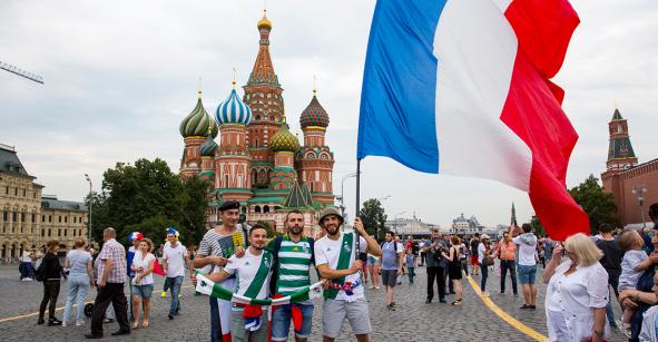 Cerca de 5 mil 500 aficionados aún no dejan Rusia desde el Mundial del 2018