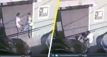 Mujer es golpeada al exterior de un domicilio en Iztacalco, CDMX