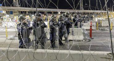 Roban alambre de púas con el que Trump protege frontera... lo venden en Tijuana