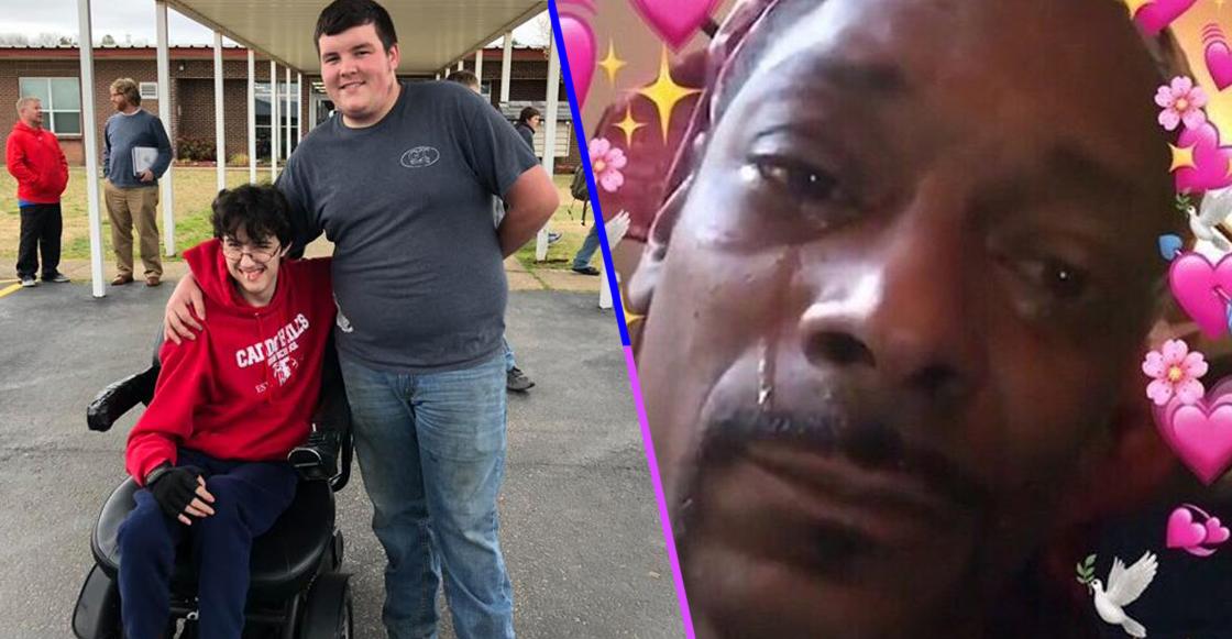 Este chico trabajó durante dos años para poder comprarle una silla de ruedas a su mejor amigo