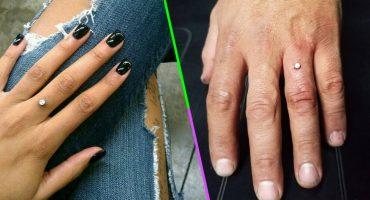 ¿Los anillos qué? Los millennials usan perforaciones de compromiso en los dedos