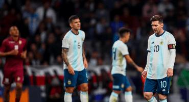 ¡Con todo y Messi! Los goles con los que Venezuela se chamaqueó a Argentina